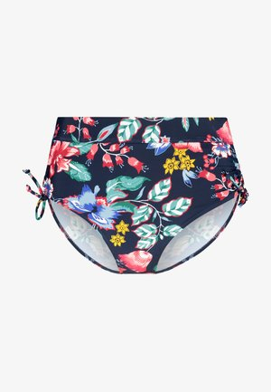 JASMINE BEACH MID WAIST BRIEF - Bikini bottoms - ink