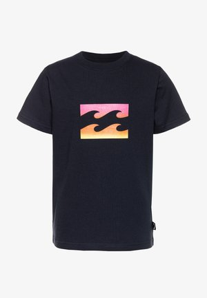 TEAM WAVE BOY - Print T-shirt - navy
