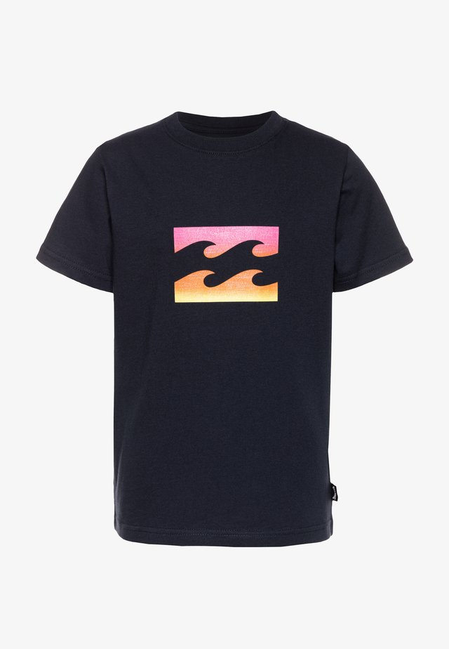 TEAM WAVE BOY - T-shirt imprimé - navy