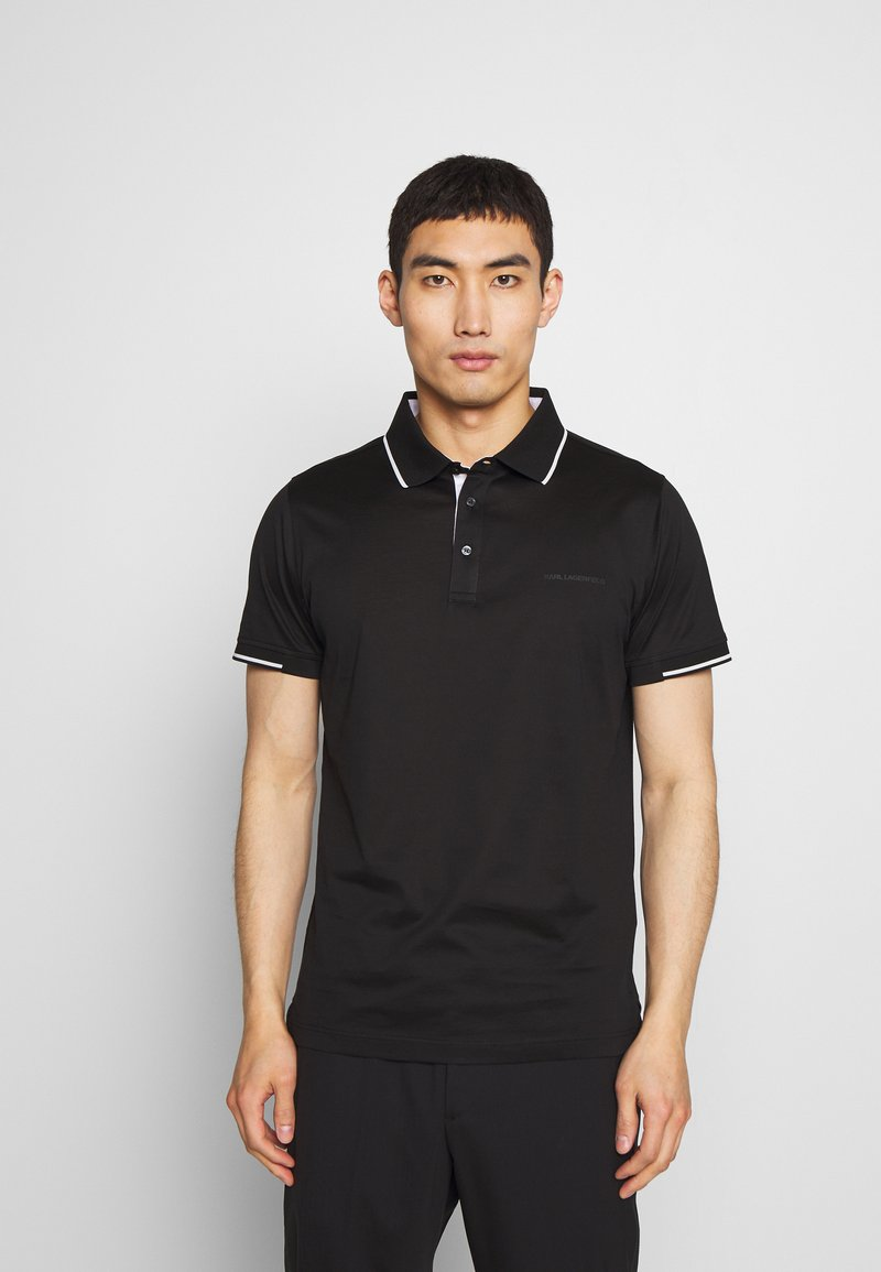 KARL LAGERFELD - Polo shirt - black