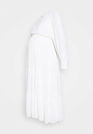 MATERNITY DRESS - Denní šaty - snow white