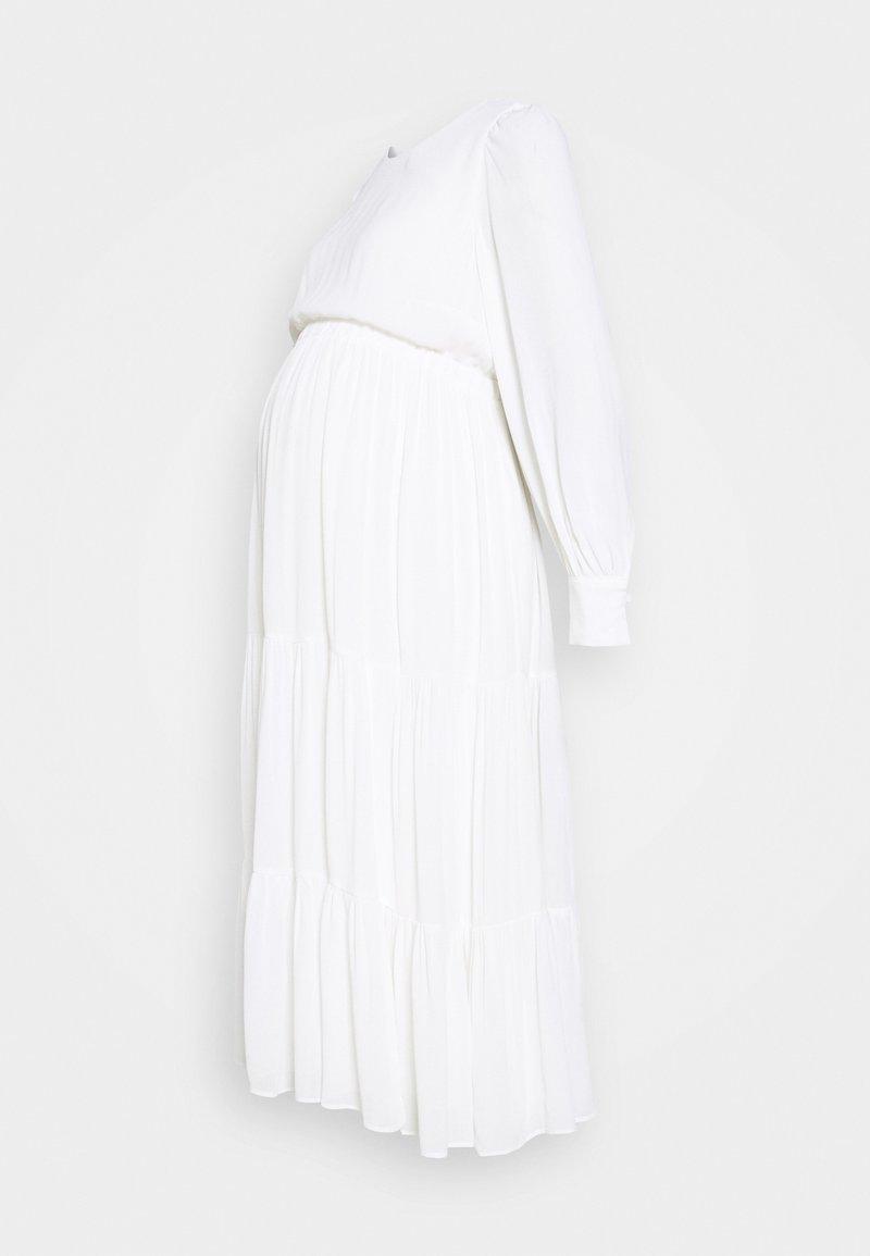 IVY & OAK Maternity - MATERNITY DRESS - Denní šaty - snow white