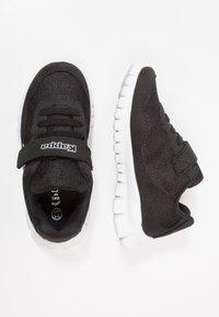 Kappa - FOLLOW - Sports shoes - black/white - 0