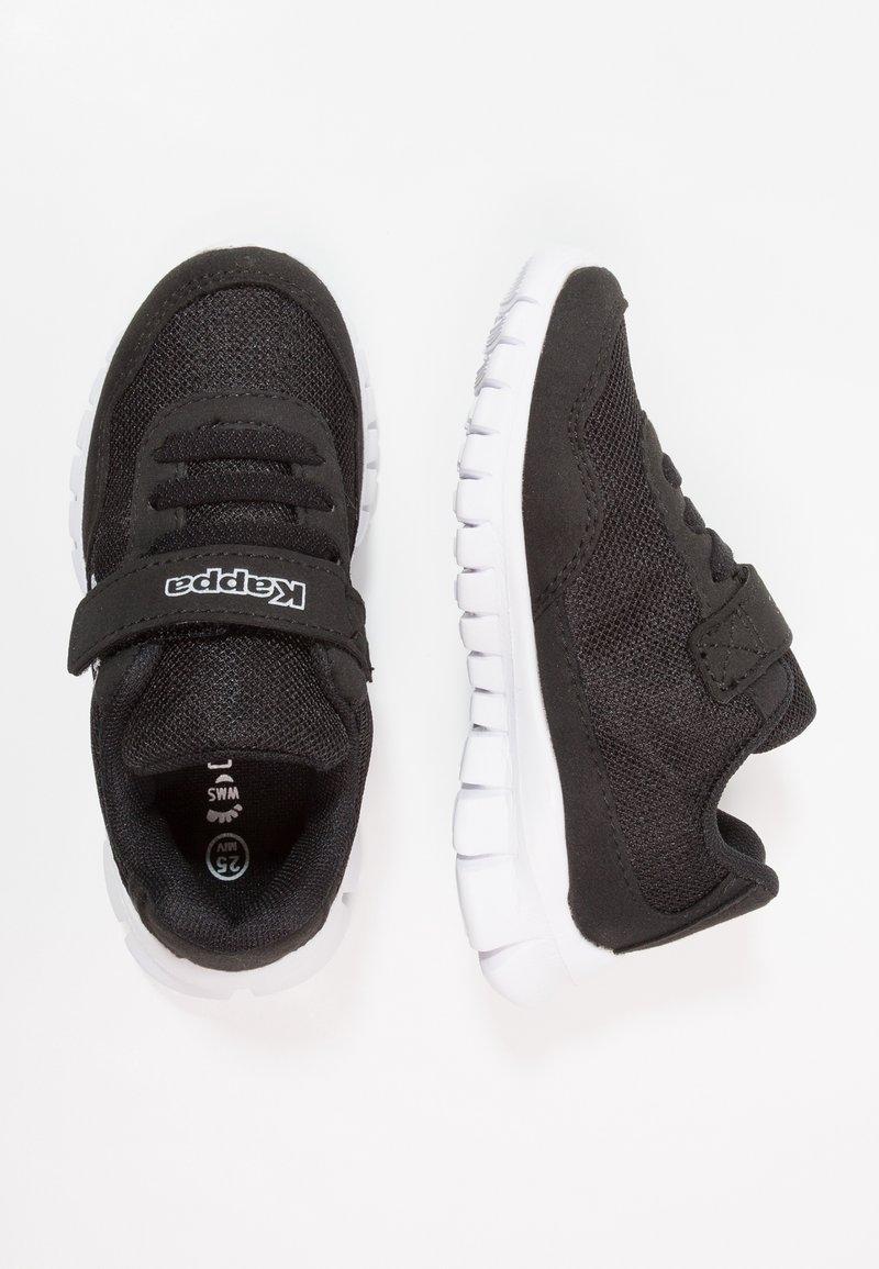 Kappa - FOLLOW - Sports shoes - black/white