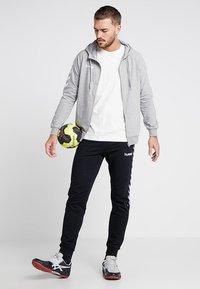 Hummel - ZIP HOODIE - Zip-up hoodie - grey melange - 1