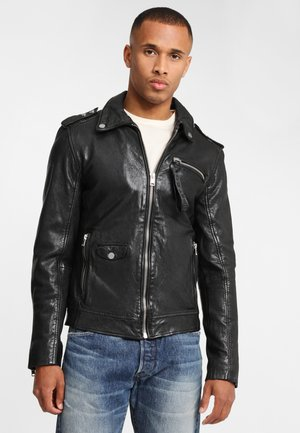 G2BGILION SF LACAV - Faux leather jacket - black