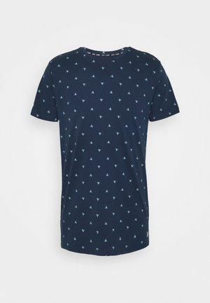 FYNN - Print T-shirt - navy