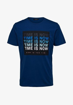 T-shirt imprimé - navy peony