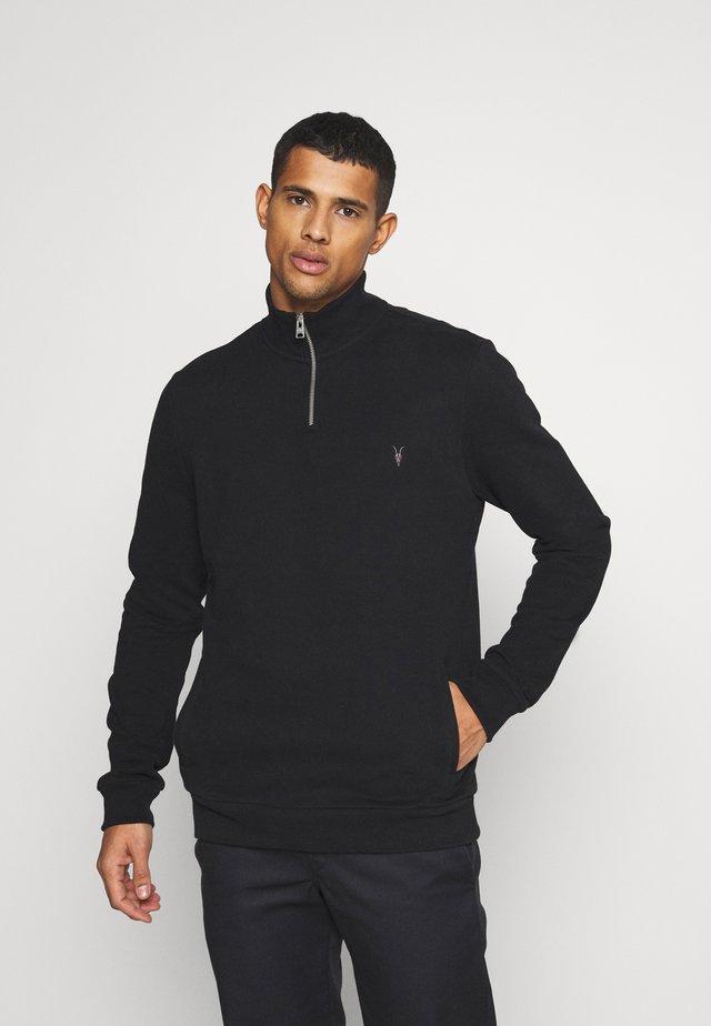 RAVEN HALF ZIP - Sweatshirt - jet black