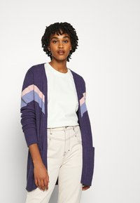 Vila - VIRIL OPEN  - Cardigan - patriot blue/stonewash - 0