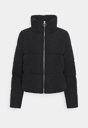 ONLDINA SHORT QUILTED PUFFER - Winter jacket - black