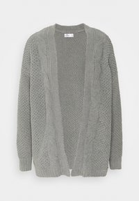 Hollister Co. - MATTE CHENIILE  - Cardigan - dark grey - 3