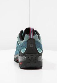 Salomon - ELLIPSE 2 AERO  - Hiking shoes - artic/reflecting pond/sangria - 3