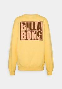 Billabong - TROPIC SHORE - Sweatshirt - pale yellow - 1