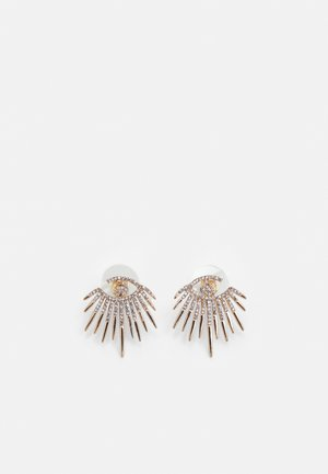 JANEECE - Pendientes - clear/gold-coloured