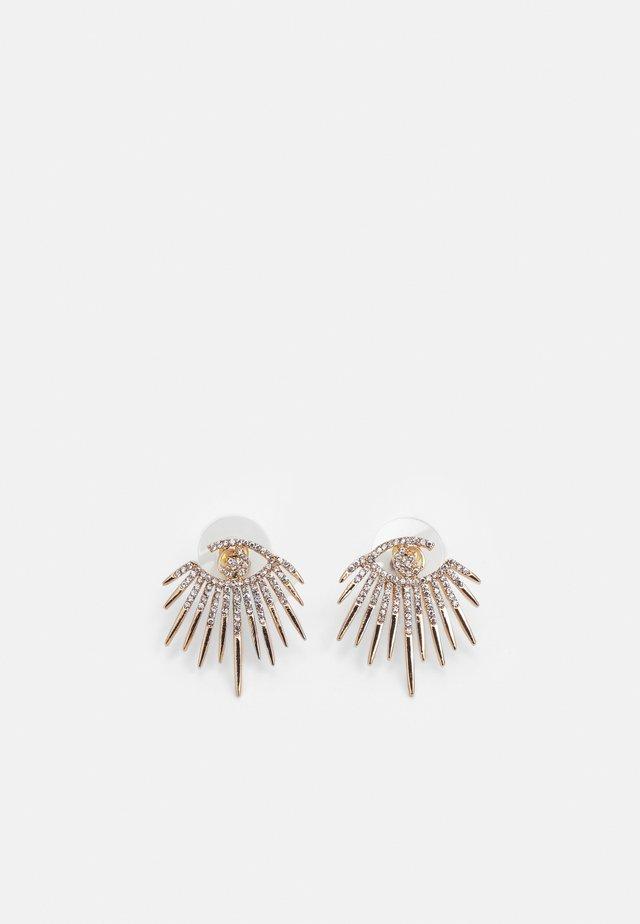 JANEECE - Boucles d'oreilles - clear/gold-coloured