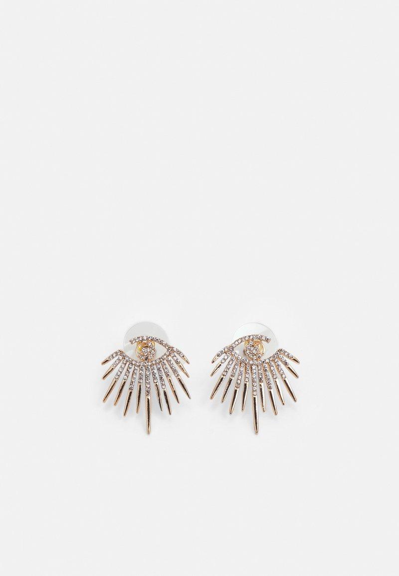 ALDO - JANEECE - Earrings - clear/gold-coloured
