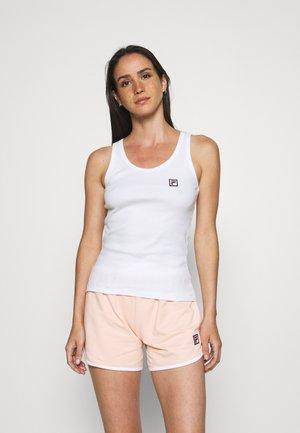 WOMAN TOP AND PANT - Pyjama - white
