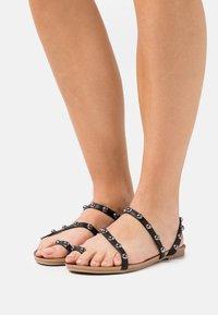 Tata Italia - SARA - T-bar sandals - black - 0