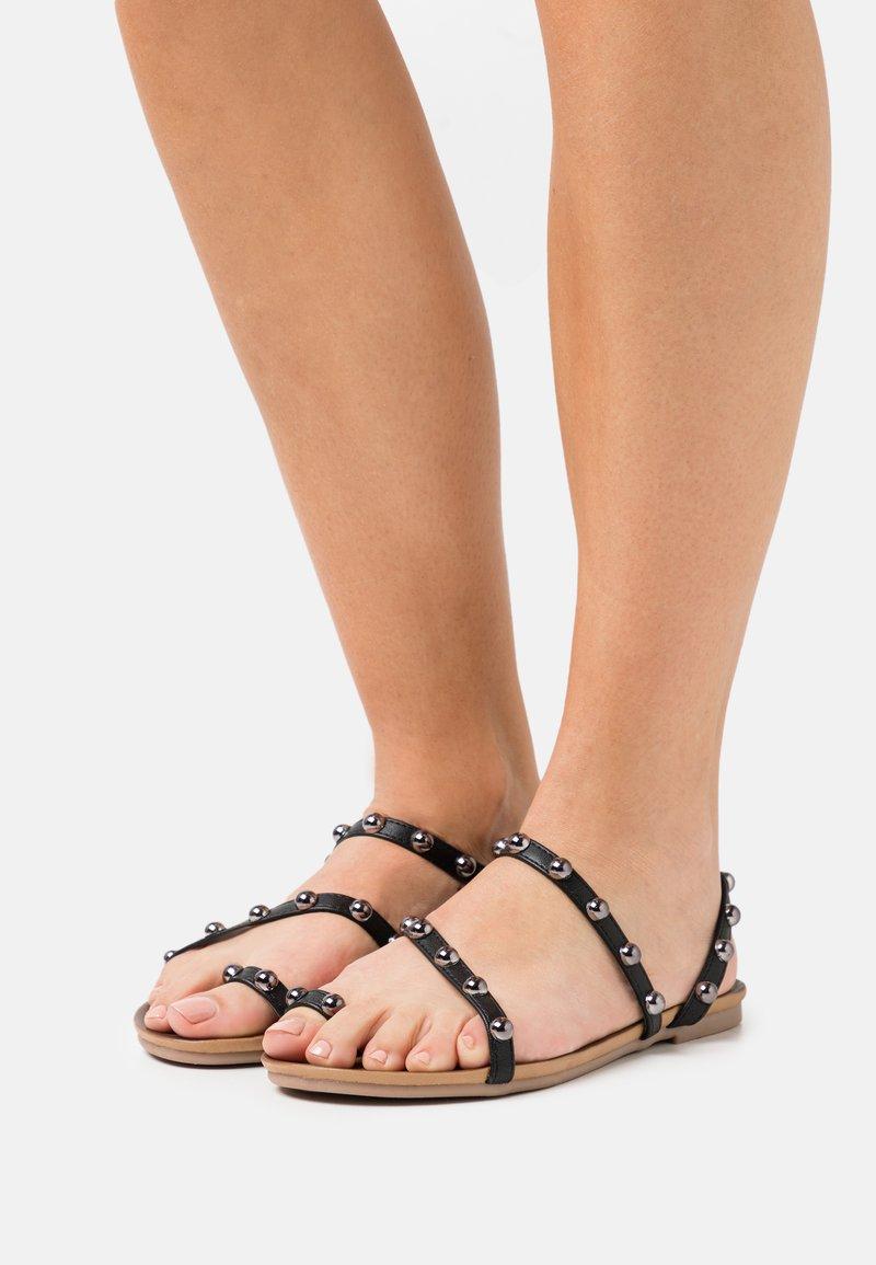 Tata Italia - SARA - T-bar sandals - black