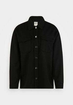 ONLMACI  SHACKET TALL - Summer jacket - black