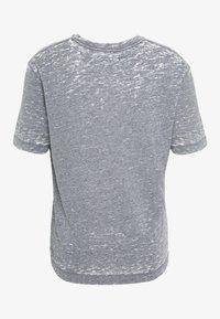 AllSaints - TRINITY CREW - T-shirts basic - blue mouline - 1