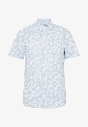 SLEEVESHRUB PRINT SHIRT - Koszula - light blue