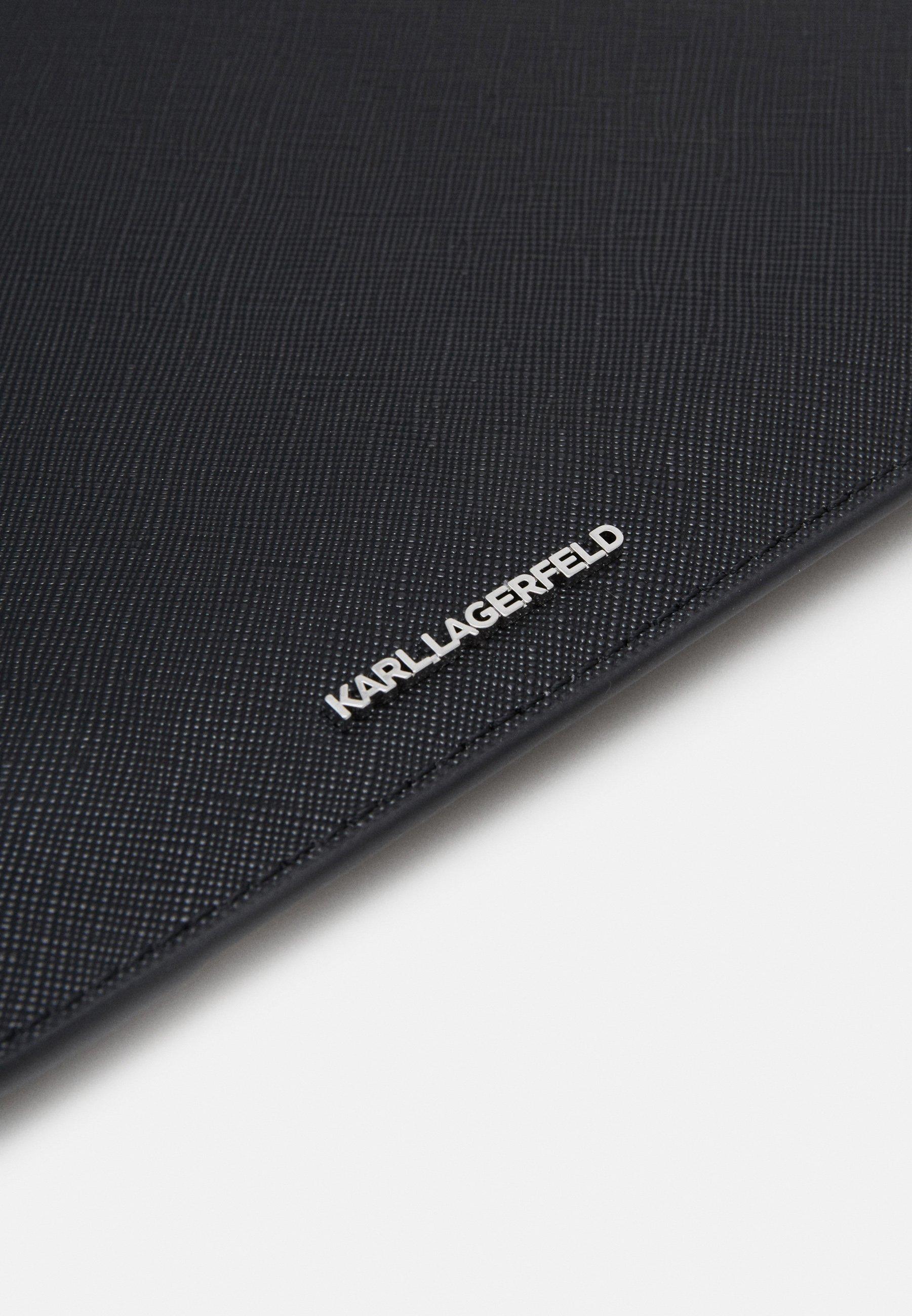 KARL LAGERFELD IKONIK POUCH - Clutch - black/svart xbsmTIqJYUEpRrW