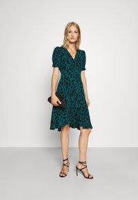 Diane von Furstenberg - ALEXIS DRESS - Day dress - medium teal - 1