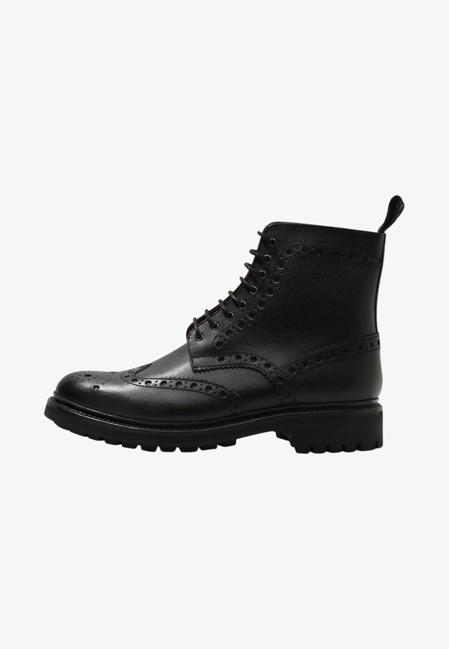 FRED - Veterboots - black grain