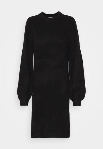 OBJEVE NONSIA DRESS - Jumper dress - black