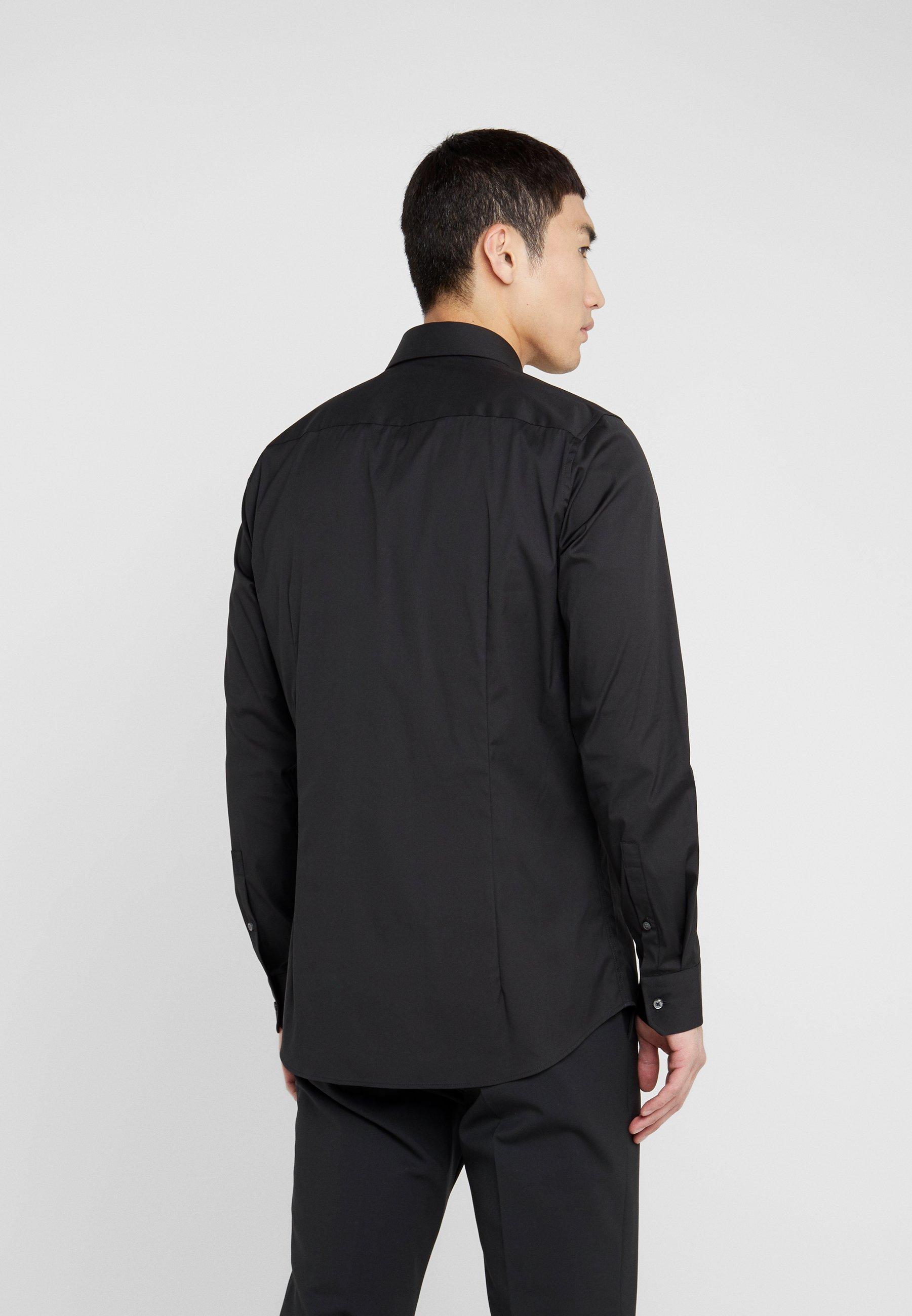 JOOP! PIERCE SLIM FIT - Finskjorte - black