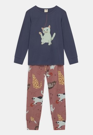 PLAYFUL CATS - Pyžamová sada - pink