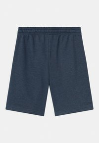 adidas Performance - UNISEX - Sports shorts - dark blue/neon yellow - 1