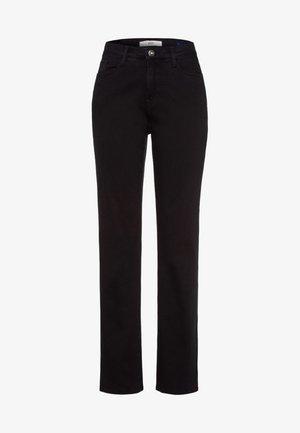 STYLE CAROLA - Straight leg jeans - black