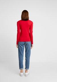 Petit Bateau - Long sleeved top - dark red - 2