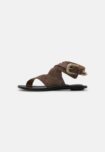 Sandals - taupe