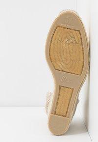 Castañer - CARINA  - High heeled sandals - amarillo/pastel - 6