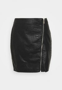 Vila - VIBALINI SHORT SKIRT - Mini skirt - black - 3