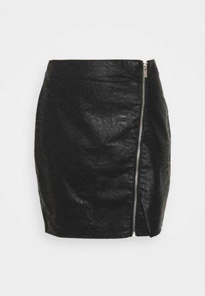 VIBALINI SHORT SKIRT - Mini skirt - black