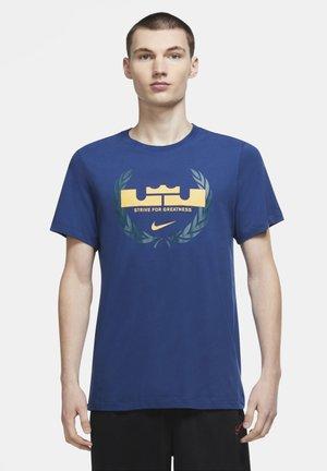 Print T-shirt - coastal blue