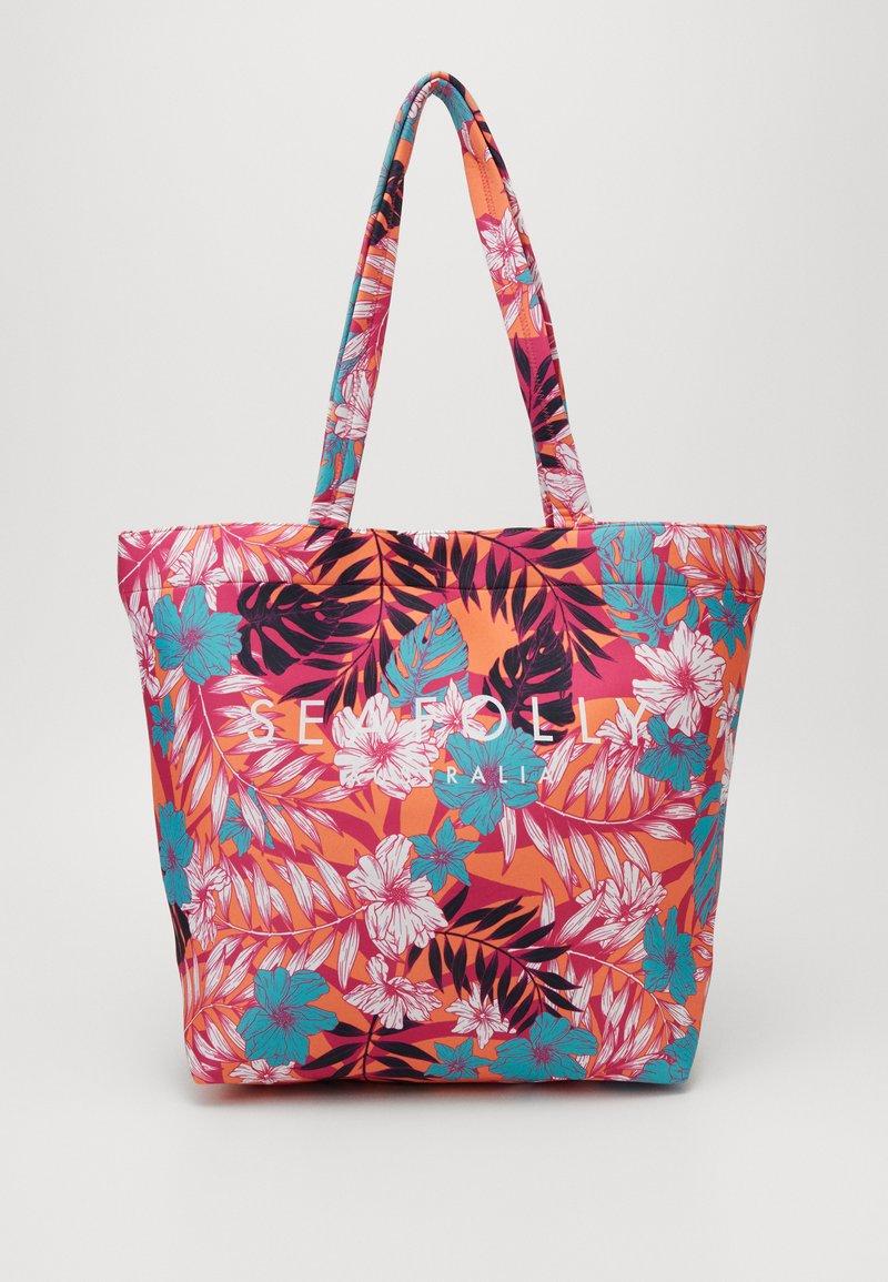 Seafolly - COPACABANA TOTE - Torba na zakupy - ultra pink