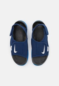 Nike Performance - SUNRAY ADJUST 5 UNISEX - Vandringssandaler - blue void/pure platinum/signal blue/black - 3