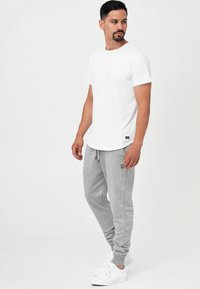 INDICODE JEANS - Pantalon de survêtement - lt grey mix - 1