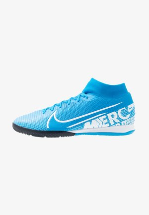 MERCURIAL 7 ACADEMY IC - Indoor football boots - blue hero/white/obsidian