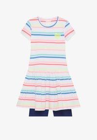 Staccato - KID RADLER - Leggings - soft white/blue - 3