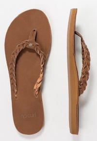 Rip Curl - RIVIERA MAYA - T-bar sandals - chestnut - 3