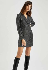 DeFacto - Cocktail dress / Party dress - grey - 0
