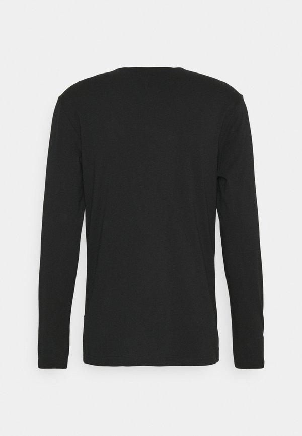 YOURTURN UNISEX - Bluzka z długim rękawem - black/czarny Odzież Męska NJJB