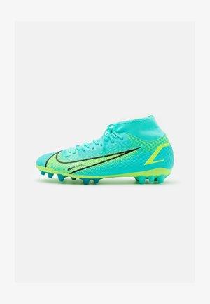 MERCURIAL 8 ACADEMY AG - Fodboldstøvler m/ faste knobber - dynamic turq/lime glow